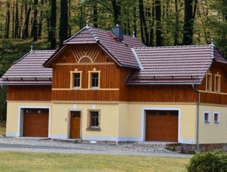 Kutscherhaus in Kipsdorf fertiggestellt