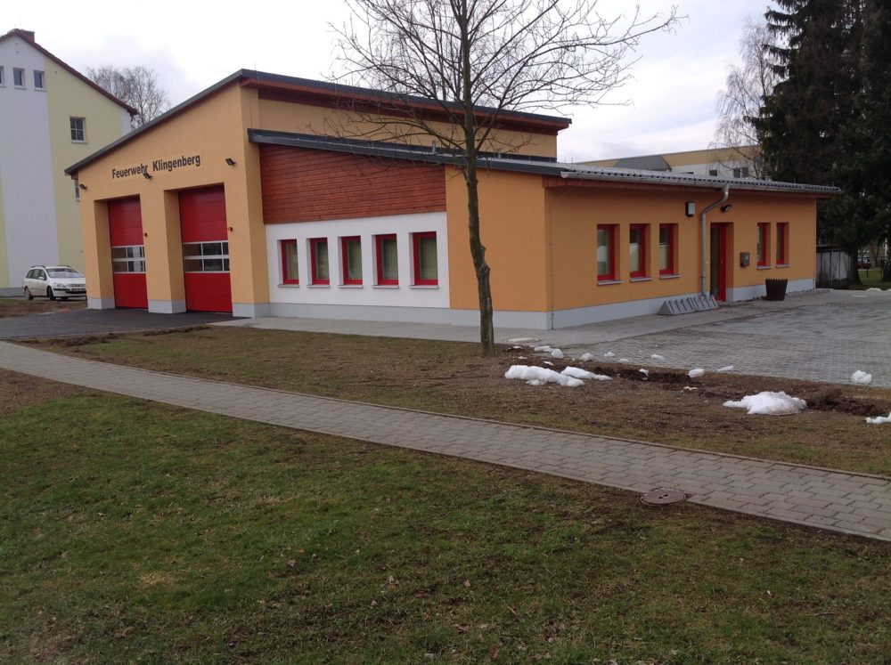 Feuerwehr Klingenberg fertig gestellt