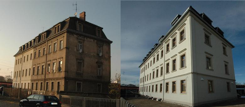 Wohnhaus Dresden Kunzstraße 10 fertig gestellt