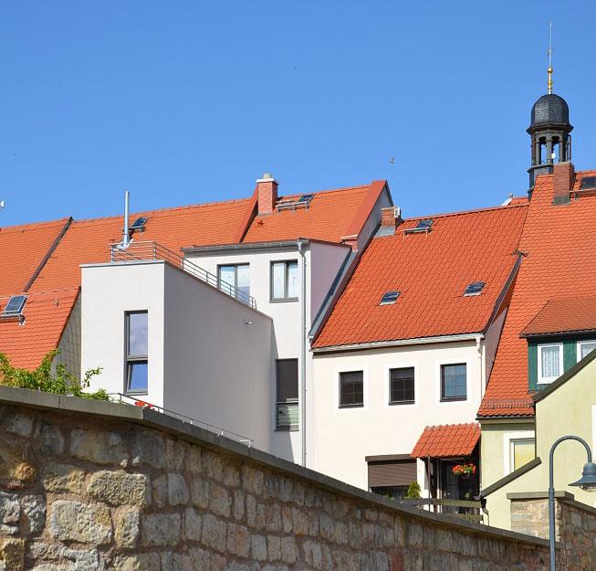 Wohn-Geschäftshaus Kirchgasse im denkmalgeschützten Stadtkern