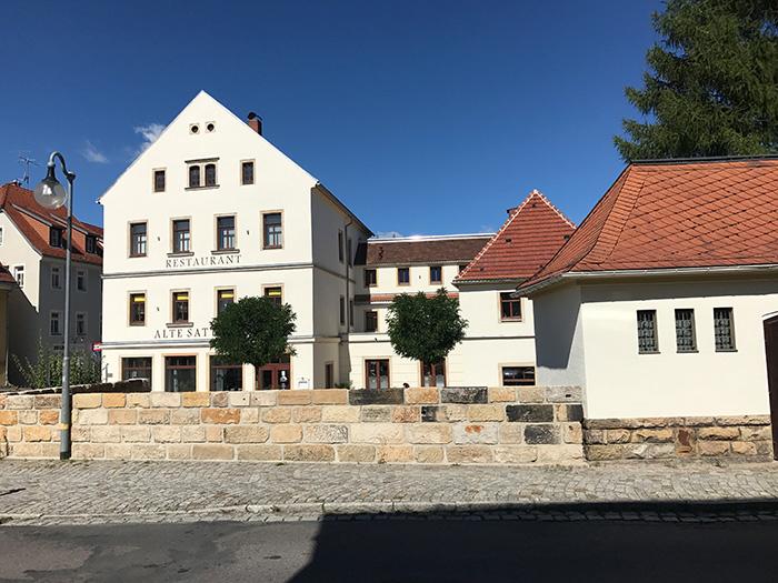 Gasthaus Dippoldiswalde Herrengasse 19 ist fertig