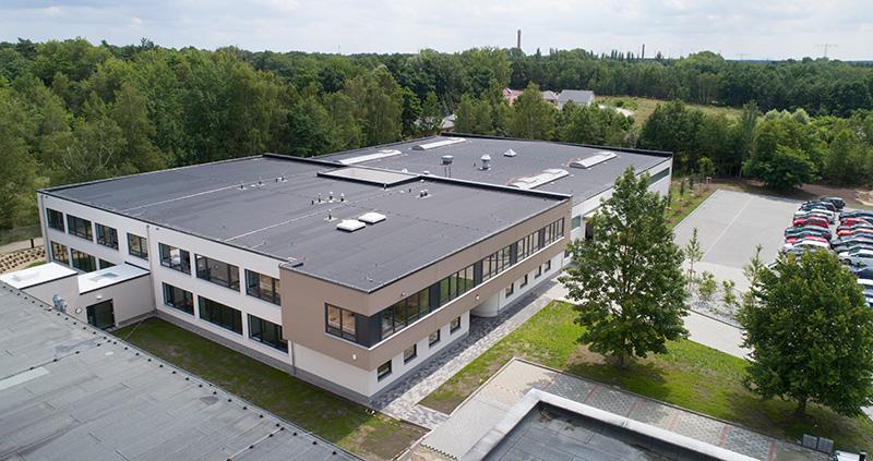 Baubeginn für Grießbach GmbH Luckenwalde ist erfolgt