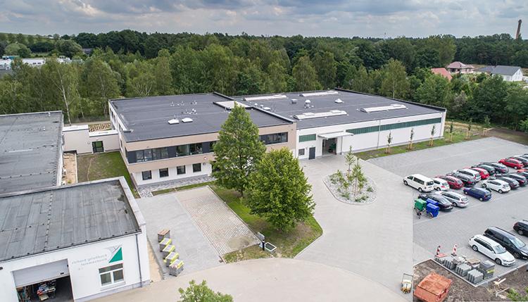 Produktions-und Bürogebäude für Fa. Griessbach Luckenwalde