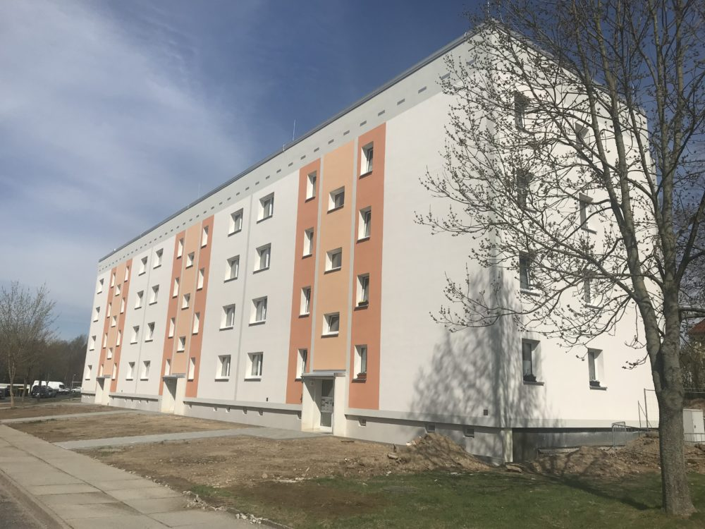 Wohnblock in Klingenberg