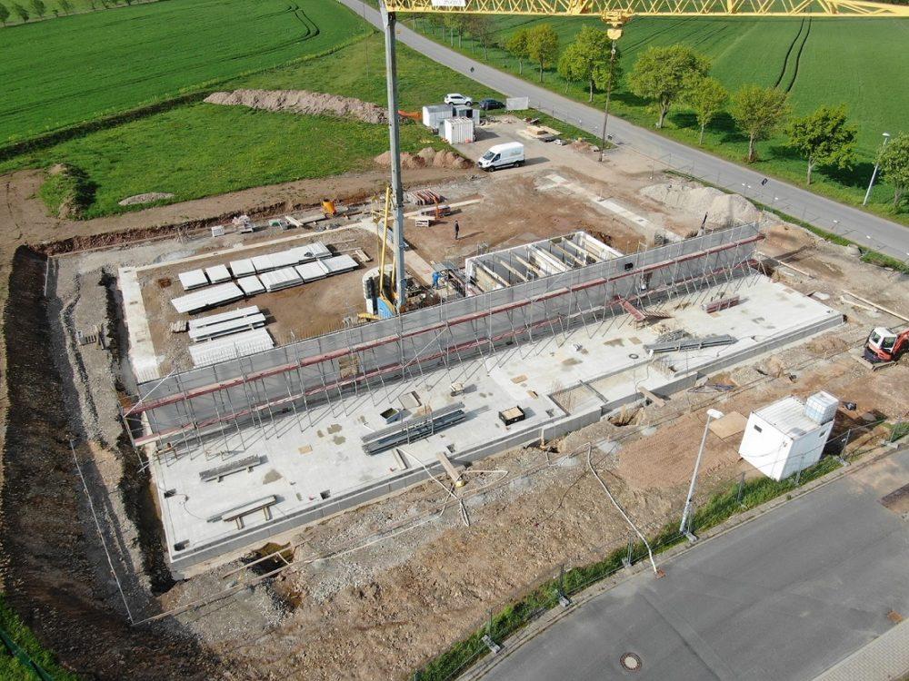 Neubau Produktionshalle mit Verwaltungsbauwerk ME 01