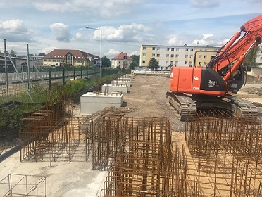 Neubau Halle für die Hochwasserausrüstung der Stadt Dresden