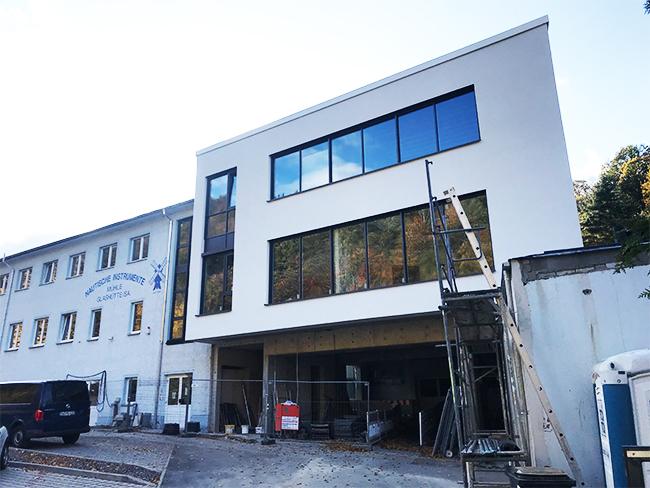 Erweiterungsbauwerk für Fa. Mühle Nautische Instrument Glashütte