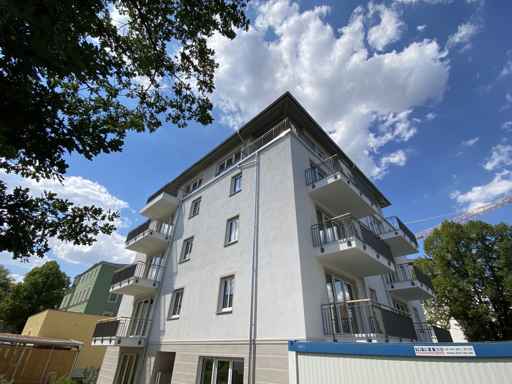Einzug in den 2 Wohnhäusern Dresden Schillingstraße (26 WE)