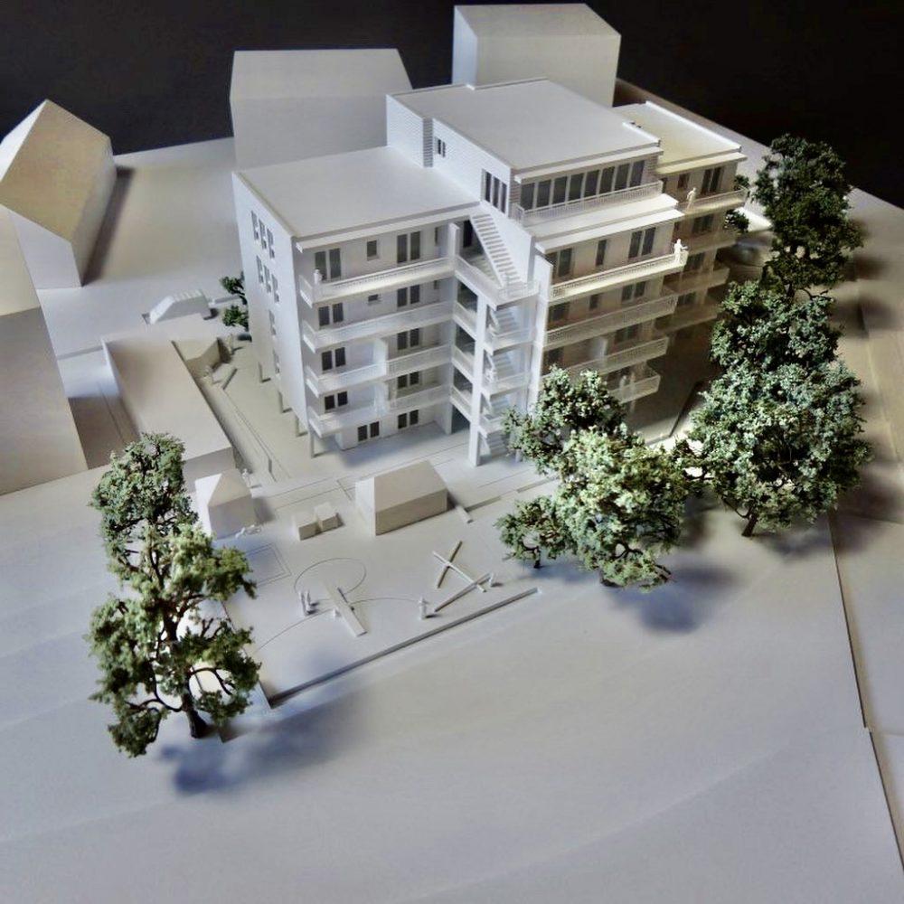 Haus der Generationen Freiberg ist im Bau